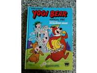 1980 vintage hard back yogi bear annual