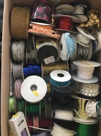 Large box of assorted trim