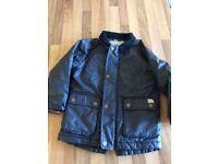 Boys wax jacket Next 2-3
