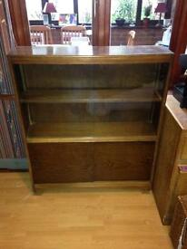 FREE bookcase with sliding Doors.