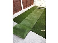 2 x artificial grass - perfect for little gardens