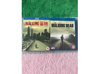 Walking dead blu Ray DVD's