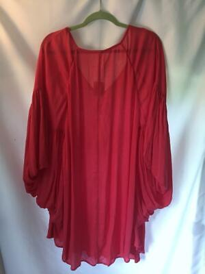 NWT Free People Rayon Oversized Top Size L Large Pink