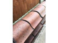 Reclaimed terracotta coping stones Billinge, Nr Wigan