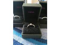 Silver Unisex wedding rings