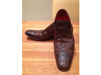 Jeffery West Men's Brown 'Dashwood' Shoes (UK9.5)