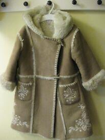 Beautiful Monsoon Girl's coat 3-4