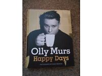 Olly Murs Happy Days book.