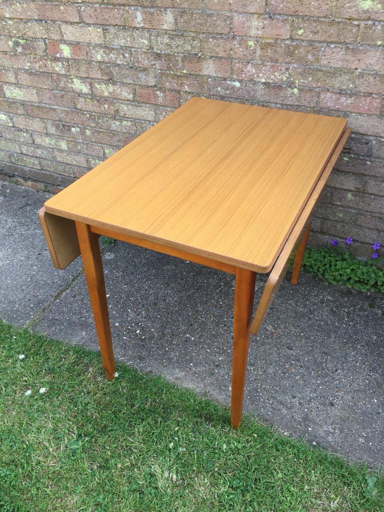 Vintage kitchen table 1950s 1960s redland