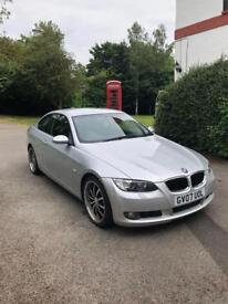 Lovely 2007 BMW 3 series 320d e92 diesel coupe for sale - bargain NO OFFERS