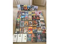 VHS video tapes x 41 feature films ,music,comedies +