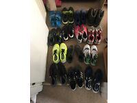 Men's trainers, football boots etc...