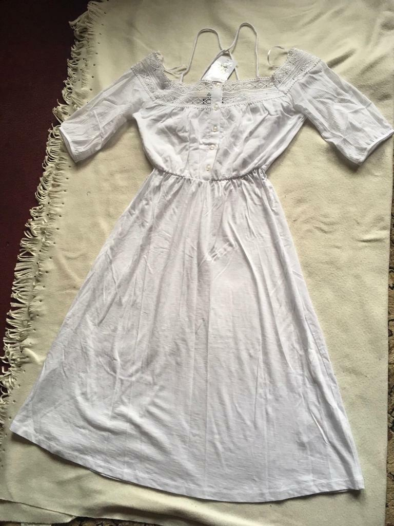 Topshop White Dress, Size 8 Brand New £15