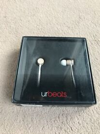 New Beats by Dr Dre urbeats In-Ear Only Headphones Gold Special Edition