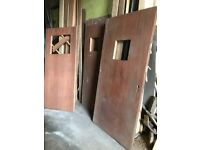 Various sizes used Fire doors offers