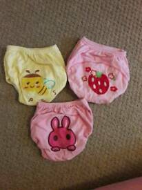 Toilet potty traning girls pants size 1.5 -2 years