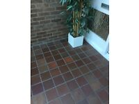 Used quarry tiles