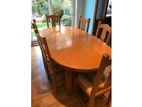 Dining Table 6 Chairs Solid Oak John Lewis