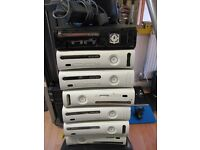 XBOX 360 SPARES OR REPAIRS 6 AVAILABLE