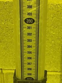 Telescopic measuring rod