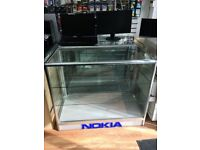 GLASS ALUMINUIM CABINETS FOR SALE X3