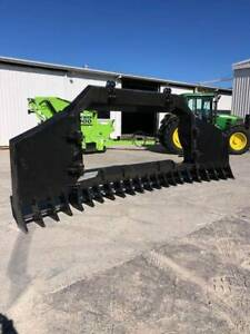 Stick Rake Cat D6R / D6T Dozer HEAVY DUTY WALK IN STICK RAKE... Applethorpe Southern Downs Preview