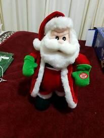 Singing & Dancing Santa's & Reindeer