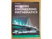 Modern Engineering Mathematics 5th Edition, Glyn James