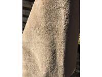 Soft fawn / warm beige carpet and off cut