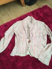 Per uni summer cotton jacket size 12