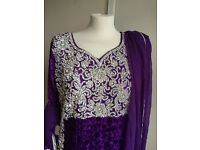 Asian women's shalwar kameez