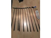 Golf clubs , bag for quick sale