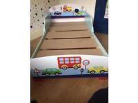 Car toddler bed