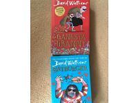Kids books david walliams 2xhardback vgc