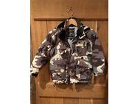 Boy's Camouflage Surfanic ski jacket
