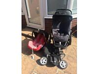 Quinny buggy and car seat
