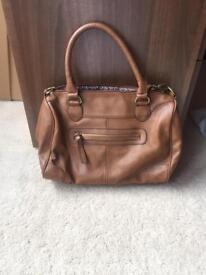 Ladies handbag - tan