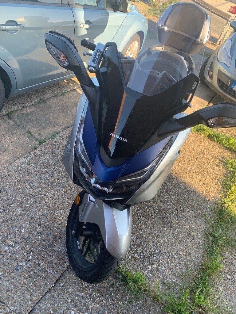 Honda Forza 125 (Silver/Blue) ABS Model | in Ipswich, Suffolk | Gumtree