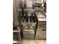 Commercial catering valentine fryer 3 phase electric