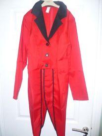 Ringmaster jacket dress up aged 10-12 years