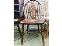 Selection of old chairs suitable for upcycling