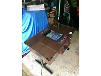 CLASSIC TABLE ARCADE Retro 36 Classic Games Arcade Table Top Machine - PacMan, Space Invaders etc