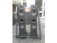 floor standing speakers wharfedale