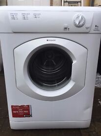 !!!HOTPOINT 6 KG VENTED TUMBLE DRYER FULLY SERVICED!!!