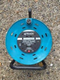 X4 25 Meter Electric Extension Cable with RCD Breaker
