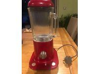 Kenwood kMix Blender, 800W, 1.6L,Raspberry Red, Aluminium, BLX50