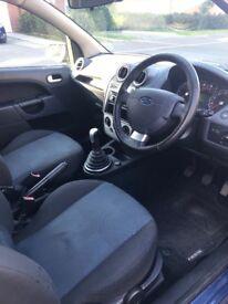 Ford Fiesta Zetec Climate 1.25, 3 Door, Blue