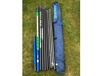 Complete carp/coarse fishing set ideal for new starters or restarters