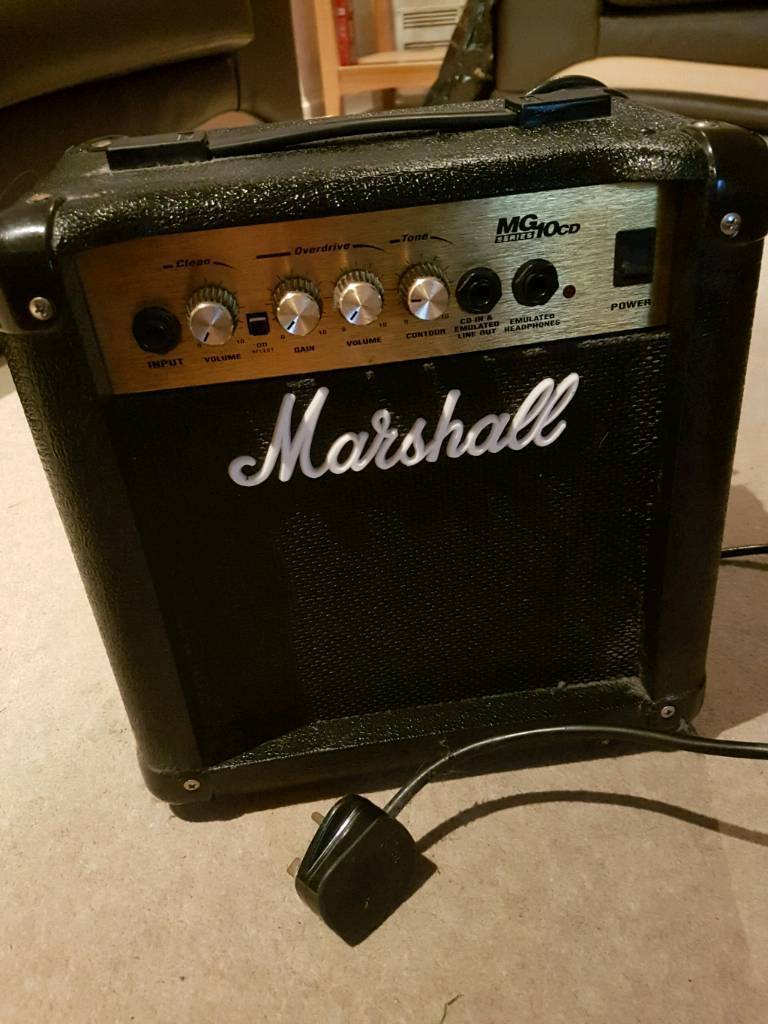 Marshall Amplifier -15watt - 2005 model