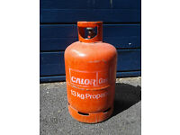 13kg Calor Gas Propane Bottle - EMPTY, for exchanging.